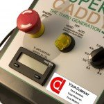 DC Motor Speed Control Consolet - Front