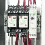 NEMA 7 Panel - Interior View - Contol Relays and Off Delay Timer