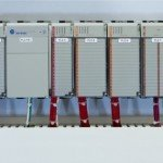 SCADA - Interior View - PLC and Expansion Modules