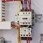 Water Treatment Control Panel - Contactor Wiring