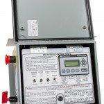 Heater Control Panel for Equipment Trailer Diesel Fired Burner - Inner Swingout View