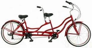 a tandem bicycle has two people providing power with four legs (pedals)   each leg (pedal) provides power (pedal pressure) at a unique angle (pedal  angle) to