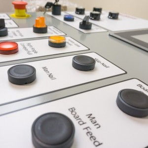 Control Panel Examples Door at Oblique Angle